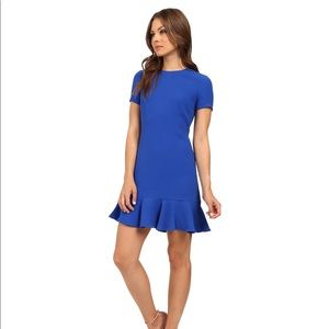 Shoshanna Tia Lapis Blue Dress Size 2
